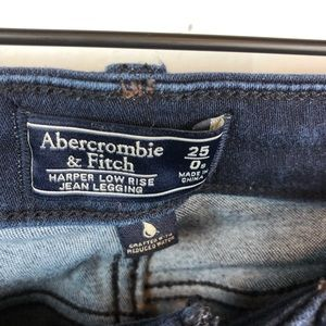 Abercrombie & Fitch Jeans - Abercrombie &Fitch | Harper Low rise jean legging